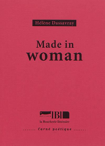 couverture du livre Made in woman